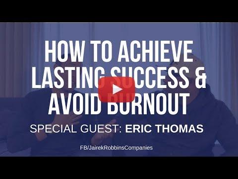 FB Live Repost: How To Achieve Lasting Success & Avoid Burnout