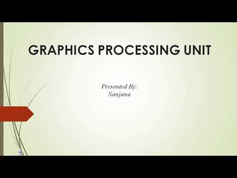 What is Graphic Processing Unit?