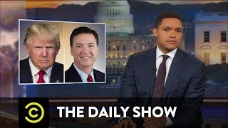 comey takes the stand but leaves the juicy details behind the daily show
