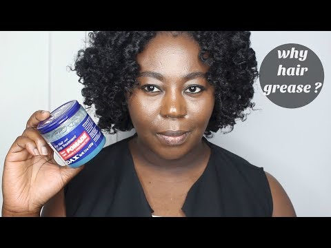 Why you should Avoid Hair Grease