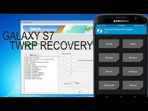 Galaxy S7/S7 Edge TWRP Recovery  | Flash Twrp recovery on Galaxy S7