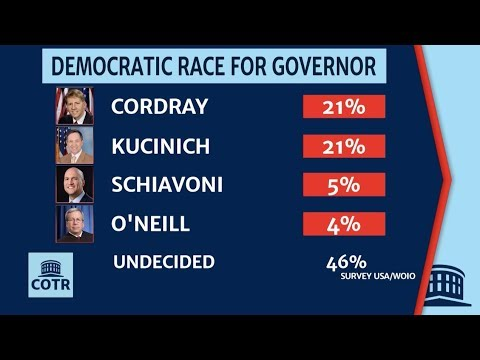 Democratic Race For Ohio Governor Tightening