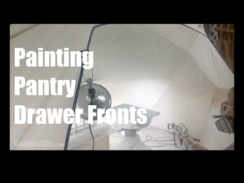 Painting Cabinet Drawer Fronts and Doors