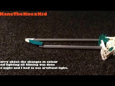 Knex combat knife