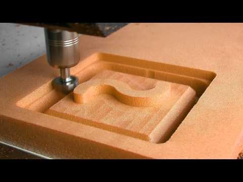Cutting PU Foam with CNC Milling Machine