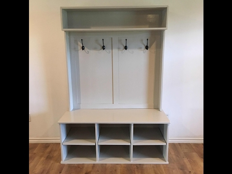 Entry Bench & Shelf Walkthrough | NelsoncraftTX