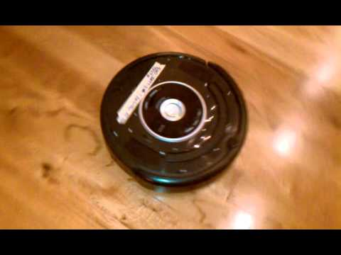 iRobot Roomba Test 107 Side Brush & Corner Cleanin