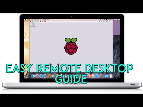 How to Remote Desktop to Raspberry Pi from Apple Mac