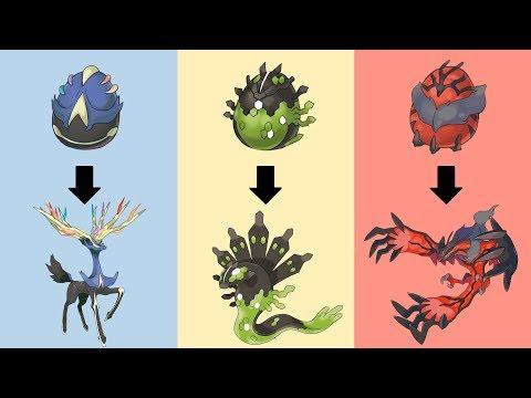 Pokemon Eggs Requests #9: Xerneas, Yveltal, Zygarde