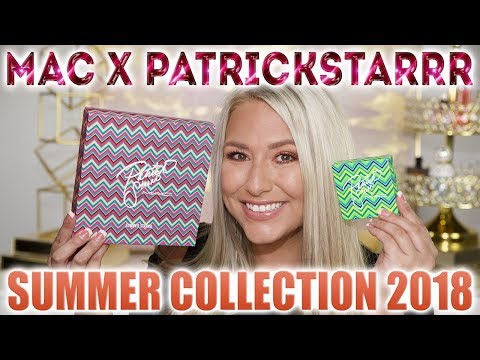 Mac Cosmetics x Patrick Starrr Summer Collection 2018