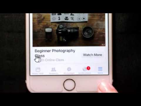 Facebook App on iPhone: the Video Autoplay setting