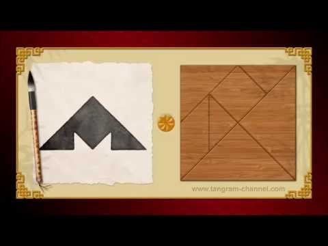 Tangram Incomplete triangle 6