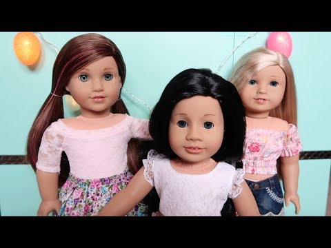 What My Dolls are Wearing for Easter! {2018}