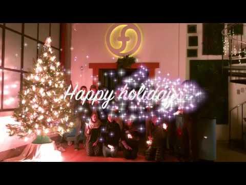 happy holidays from flowtoys