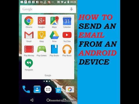 How To Send An Email On Android!!!!Really Easy!!!!