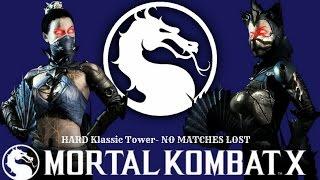Mortal Kombat X (PS4) Revenant Kitana (Assassin) HARD Klassic Tower-No Matches Lost