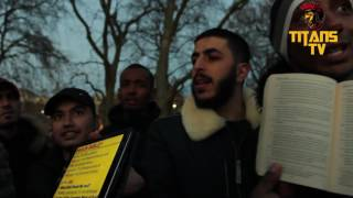 Ali Dawah Crushes Christians With 1 Question | Speakers Corner