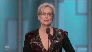 Meryl Streep SLAMS Donald Trump at the Golden Globes - Conservatives Get TRIGGERED!!