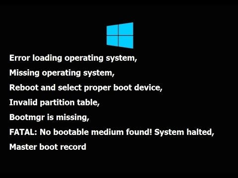How to Fix Windows Stuck on Bootloader in Windows 10/8.1 (No Media USB & DVD)