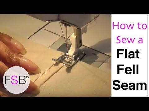 Sewing a Flat Fell Seam