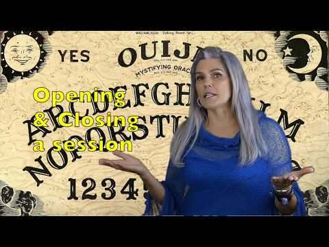 HOW TO START A OUIJA BOARD SESSION!!