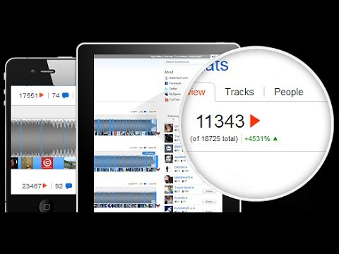 Soundcloud Plays increaser comments, followers & group share 2014