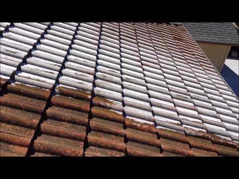 SoftWash Tile Roof Cleaning by Illuminate Palace Power Wash Services