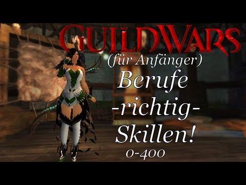 GuildWars 2 - [Anfängerguide] Berufe -richtig- Skillen! Deutsch/German