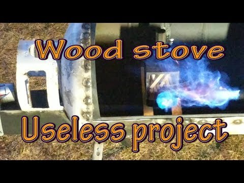 Wood stove for the Almost Useless Challenge 2018