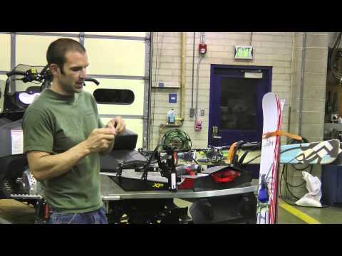 How to mount snowmobile ski and snowboard racks