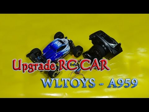 How to Upgrade Wltoys A959 1/18 RC Car Brushless Max Speed