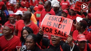 Thousands fill Joburg streets as Cosatu leads nationwide march