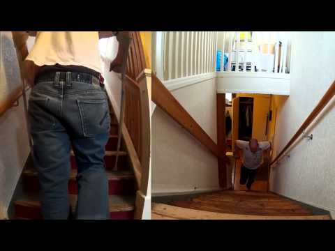 How to use crutches in a stair like a PRO! The Fast way!!