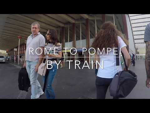 How to get to Pompei from Rome by train