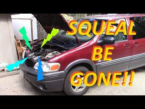 Pontiac Montana Harmonic Balancer Replacement -- No more squeal!