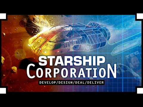 Starship Corporation - (Space Ship Building / Managing Tycoon Game)