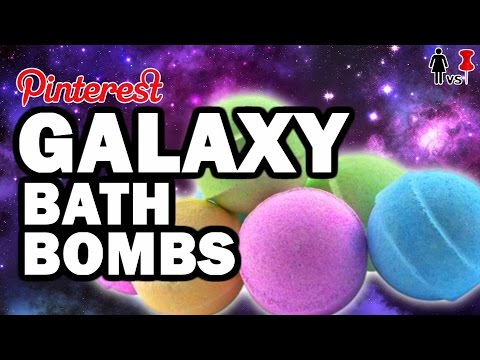 DIY Galaxy Bath Bombs, Corinne VS Pin #20