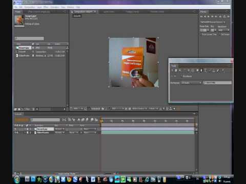 AFTER EFFECTS tutorial-move objects without touching them!