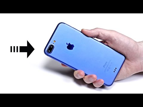 IPhone 7 Plus in blue - Hands On With Prototype!