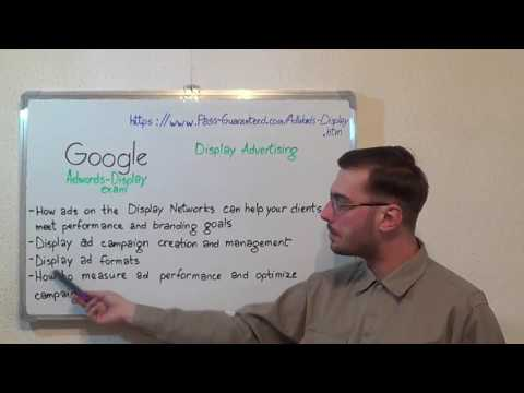 Adwords-Display – Google Exam Display Advertising Test Certification Questions