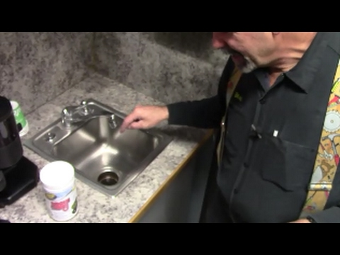 Get rid of garbage disposal odor smells with enzyme cleaner, opens drain