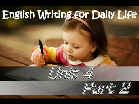 การเขียนภาษาอังกฤษในชีวิตประจำวัน การเขียนเพื่อการสมัครงาน ตอนที 2