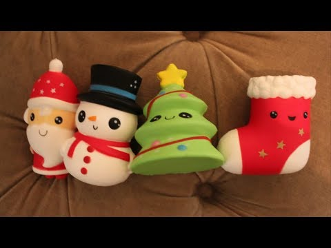 Christmas Themed Squishies