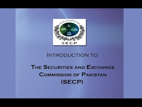 Introduction to The Securities And Exchange Commission of Pakistan (SECP)
