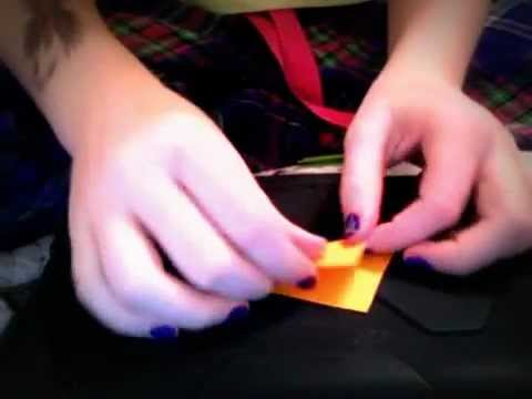 Jess| How to Make A Louis Tomlinson Paper Carrot| Craft Week