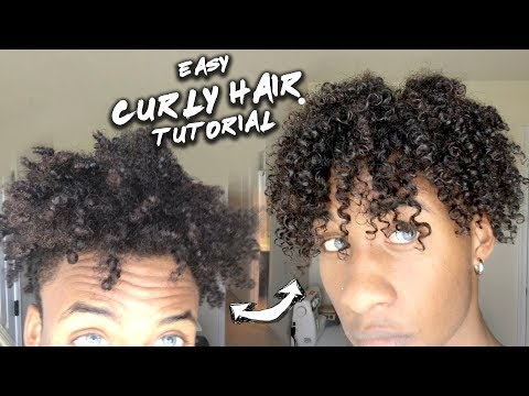 From Nappy Hair to Curly Hair | Easy Tutorial | Many Ethnicities Product Review