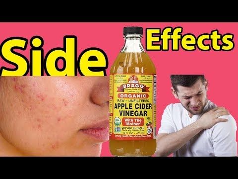 Hey! Are You Alert Of 5 Major Side Effects of Apple Cider Vinegar? Apple Cider Vinegar Side Effects