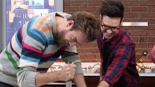 Download Rhett and Link Taste Test International Holiday Desserts Video