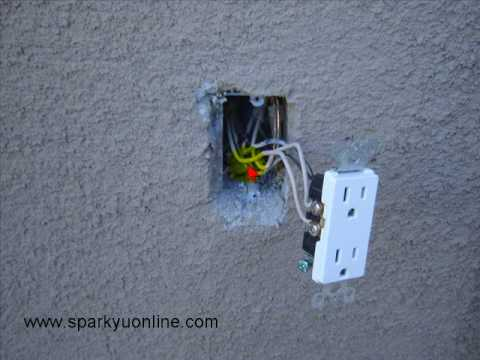 Electrical Wiring No ground tails