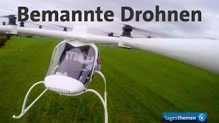 Bemannte Drohne: Von Science Fiction zur Wirklichkeit